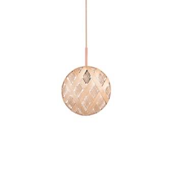 Suspension chanpen diamond s naturel o19cm h19cm forestier normal