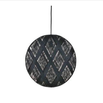 Suspension chanpen diamond xl noir o52cm h52cm forestier normal