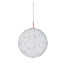 Chanpen hexagonal l  suspension pendant light  forestier 20258  design signed 53963 thumb