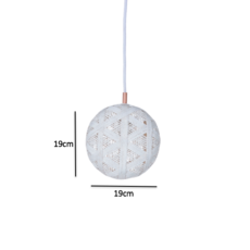 Chanpen hexagonal s  suspension pendant light  forestier 20252  design signed 53969 thumb