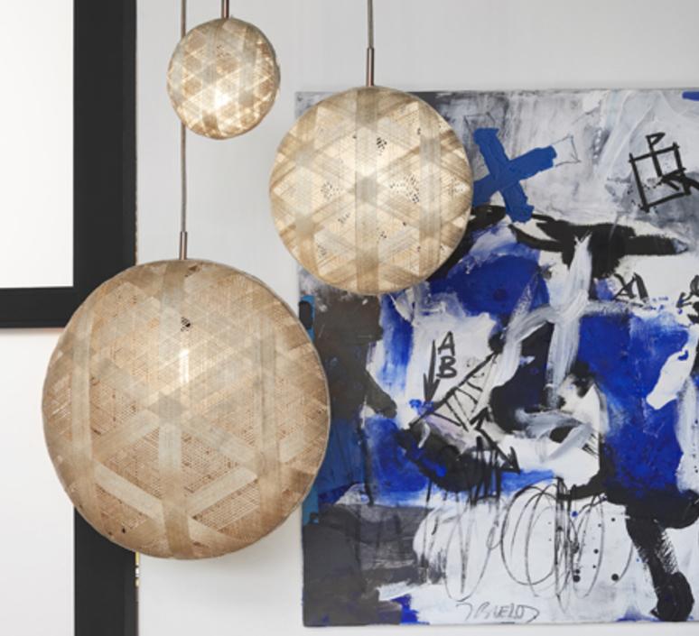 Chanpen hexagonal xl  suspension pendant light  forestier 20263  design signed 53972 product