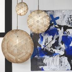 Chanpen hexagonal xl  suspension pendant light  forestier 20263  design signed 53972 thumb