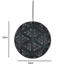 Chanpen hexagonal xl  suspension pendant light  forestier 20262  design signed 53946 thumb
