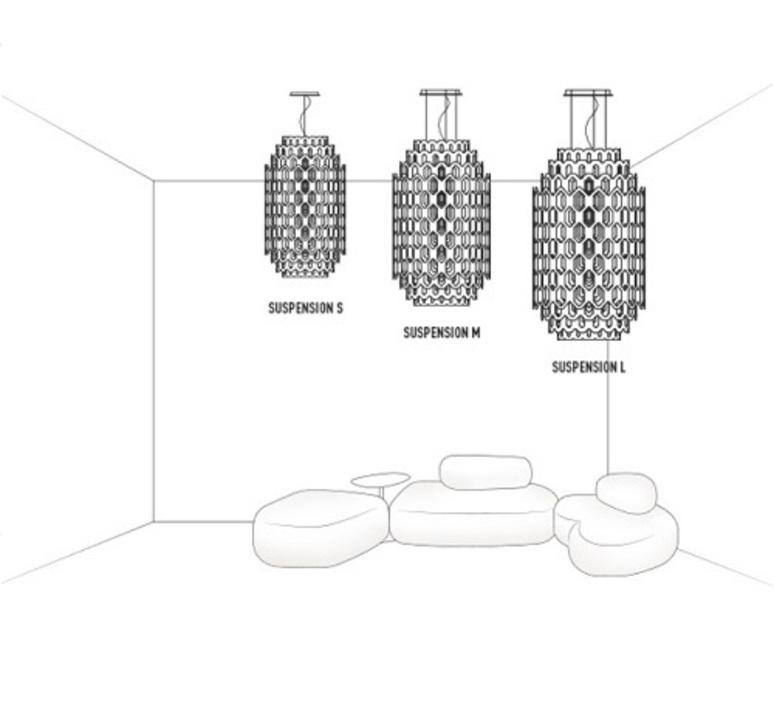Chantal doriana massimiliano fuksas slamp chn88sos0001w 000 luminaire lighting design signed 18037 product