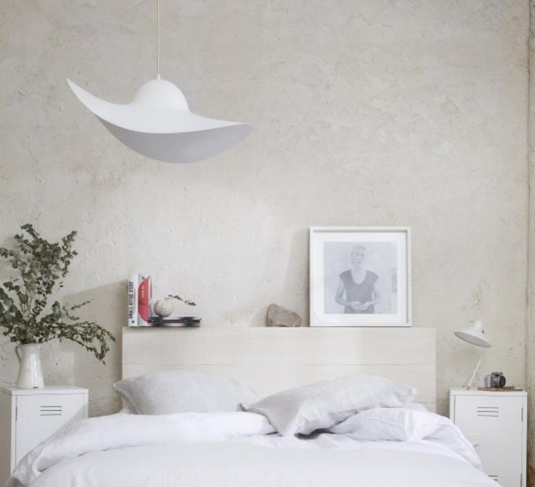 Suspension, chapeau, Hat Lamp, blanc, Ø63cm - eno studio ...