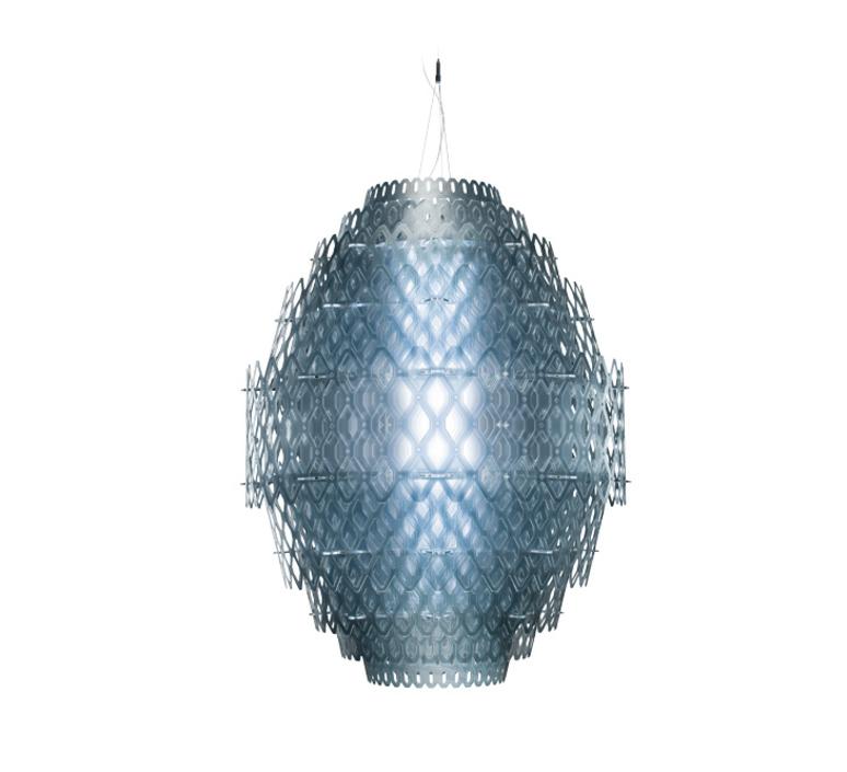 Charlotte  suspension pendant light  slamp chr88sos0004b 000  design signed 51991 product