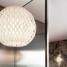 Charlotte globe doriana et massimilano fuksas suspension pendant light  slamp chr88sosg000w 000  design signed nedgis 66212 thumb