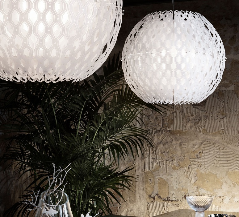 Charlotte globe doriana et massimilano fuksas suspension pendant light  slamp chr88sosg000w 000  design signed nedgis 66213 product