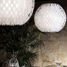 Charlotte globe doriana et massimilano fuksas suspension pendant light  slamp chr88sosg000w 000  design signed nedgis 66213 thumb