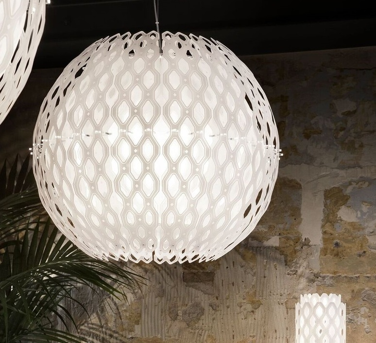 Charlotte globe doriana et massimilano fuksas suspension pendant light  slamp chr88sosg000w 000  design signed nedgis 66214 product