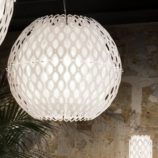 Charlotte globe doriana et massimilano fuksas suspension pendant light  slamp chr88sosg000w 000  design signed nedgis 66214 thumb