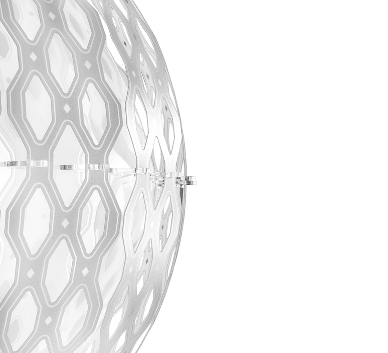 Charlotte globe doriana et massimilano fuksas suspension pendant light  slamp chr88sosg000w 000  design signed nedgis 66216 product