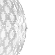 Charlotte globe doriana et massimilano fuksas suspension pendant light  slamp chr88sosg000w 000  design signed nedgis 66216 thumb