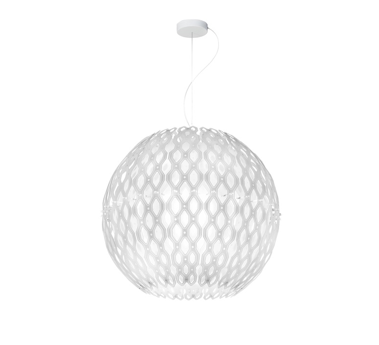 Charlotte globe doriana et massimilano fuksas suspension pendant light  slamp chr88sosg000w 000  design signed nedgis 66217 product