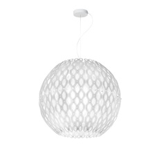 Charlotte globe doriana et massimilano fuksas suspension pendant light  slamp chr88sosg000w 000  design signed nedgis 66217 thumb