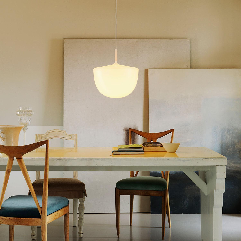 suspension cheshire blanc translucide 35cm fontanaarte luminaires nedgis. Black Bedroom Furniture Sets. Home Design Ideas