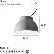 Cicala emiliana martinelli martinelli luce 2091 bi luminaire lighting design signed 23802 thumb