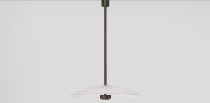 Suspension cielo suspension large bronze led 2700k lm l39cm h39cm cto lighting normal