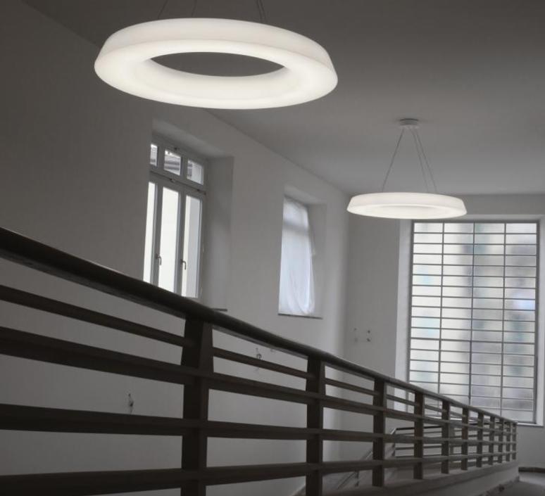 Circular pol  martinelli luce 2057 dim l 1 bi luminaire lighting design signed 32392 product