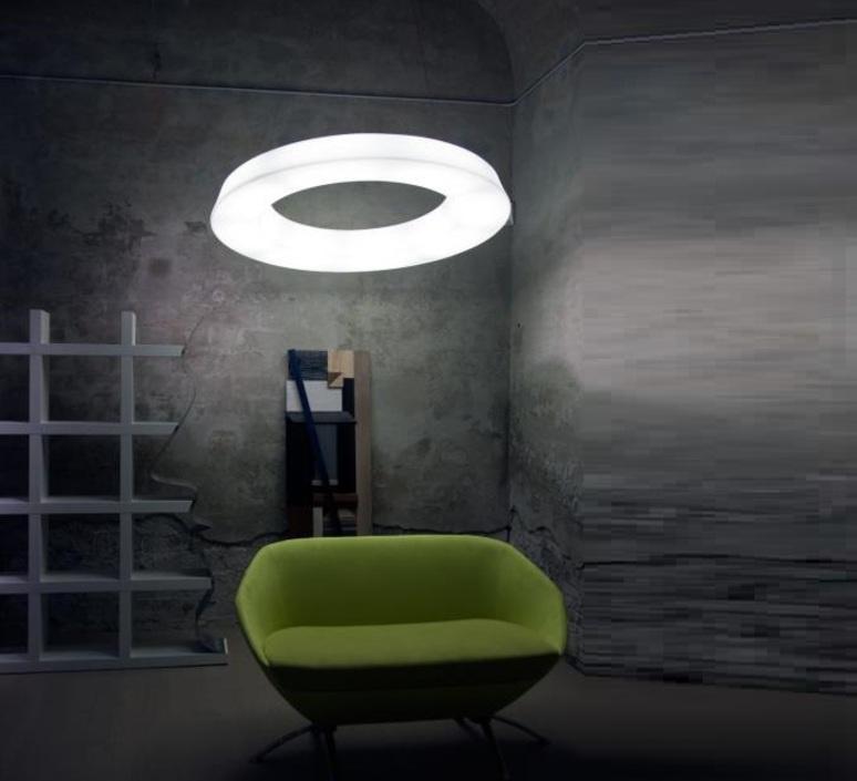 Circular pol  martinelli luce 2057 j dim l 1 bi luminaire lighting design signed 32396 product