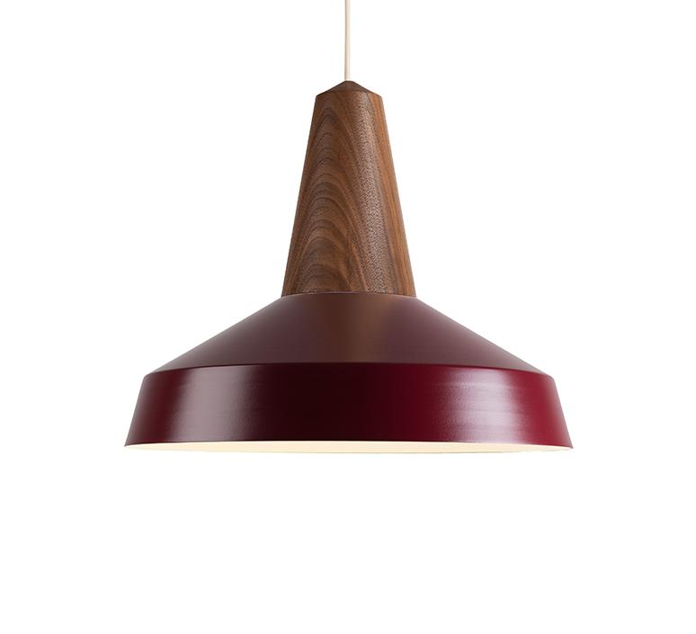 Circus  julia mulling et niklas jessen suspension pendant light  schneid eikon circus black oak burgundy  design signed nedgis 106381 product