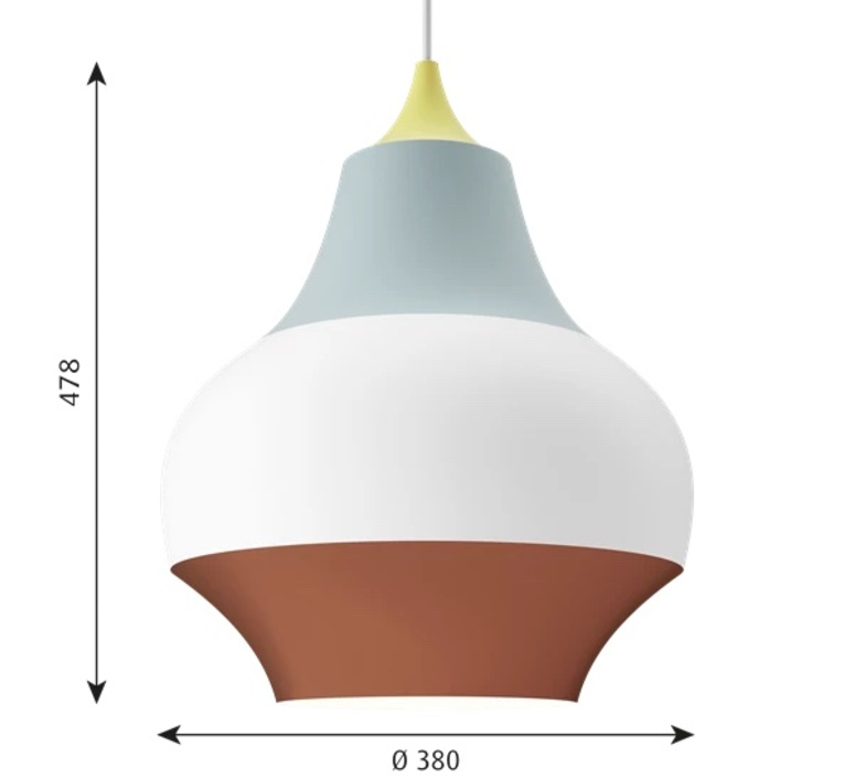 Cirque  suspension pendant light  louis poulsen 5741097322  design signed nedgis 117177 product