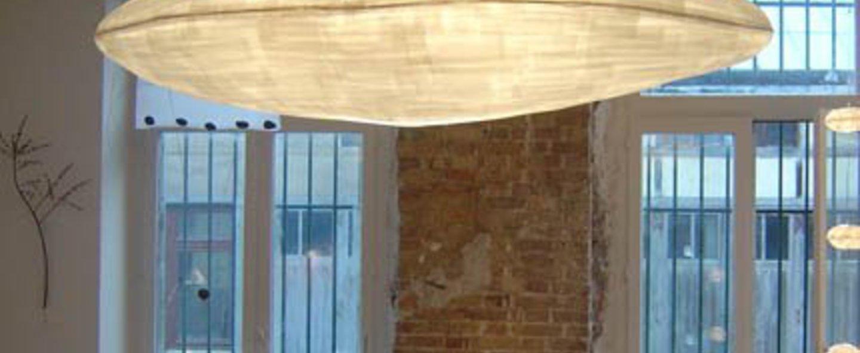 Suspension cirrus suspension blanc l220cm celine wright normal