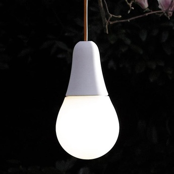 Suspension ciulifruli blanc o16cm h16cm martinelli luce normal