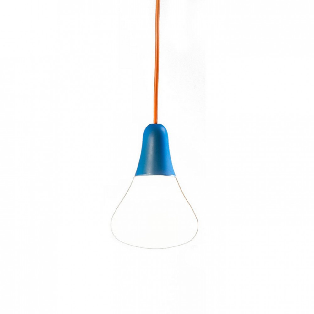 Suspension ciulifruli bleu h31cm martinelli luce for Suspension bleu
