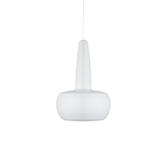 Suspension clava blanc o21 5cm h33cm umage normal