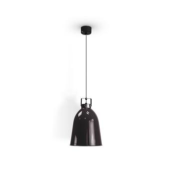 Suspension clement 240 noir brillant o24cm h34 5cm jielde normal