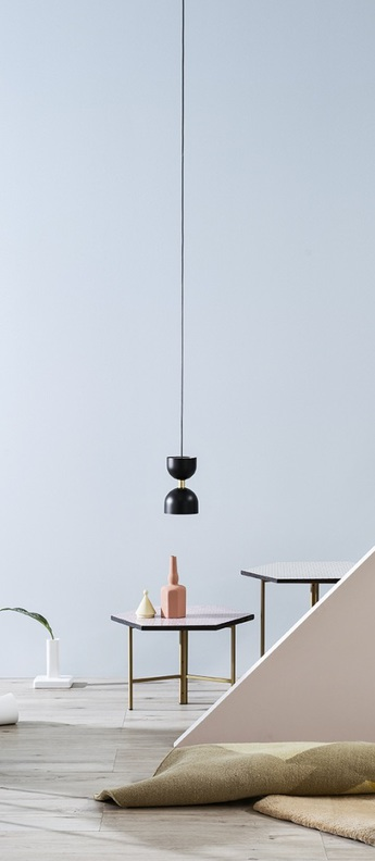 Suspension clessidra noir led o16cm h26cm mm lampadari normal