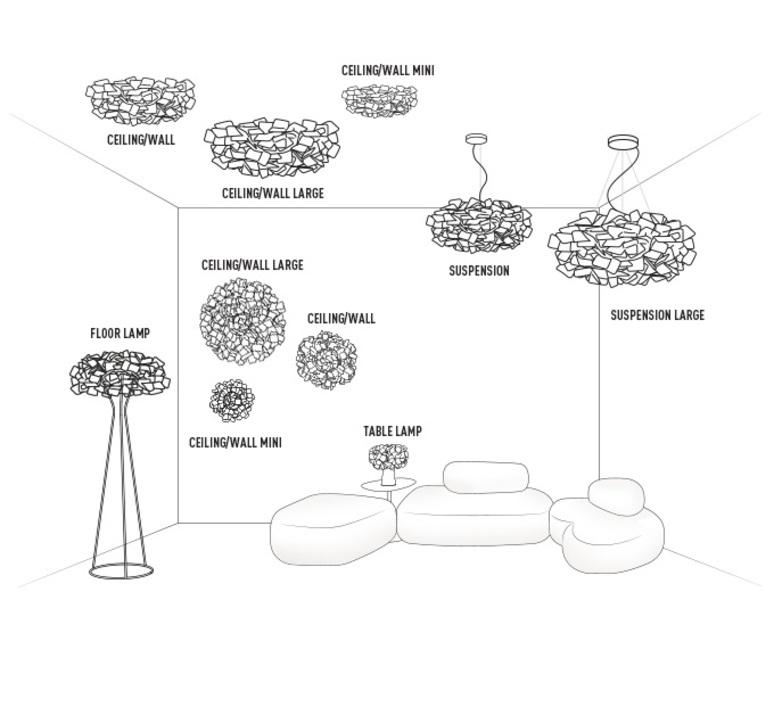 Clizia adriano rachele slamp cli78sos0003n 000 luminaire lighting design signed 17321 product