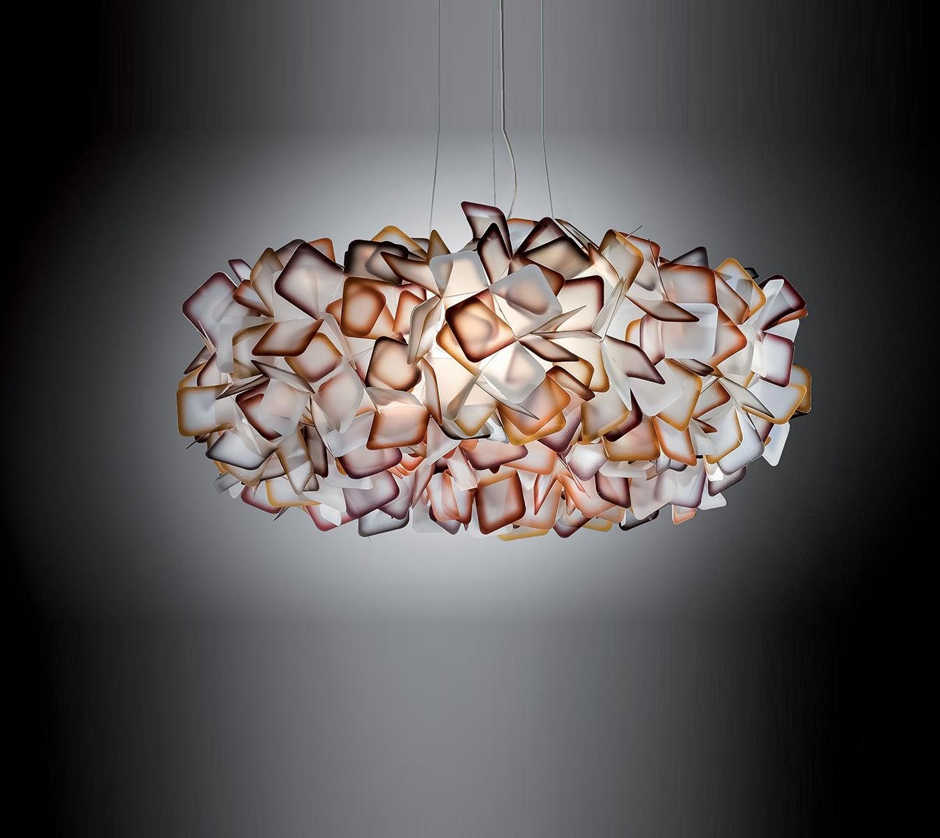 suspension clizia orange 53cm slamp luminaires nedgis. Black Bedroom Furniture Sets. Home Design Ideas