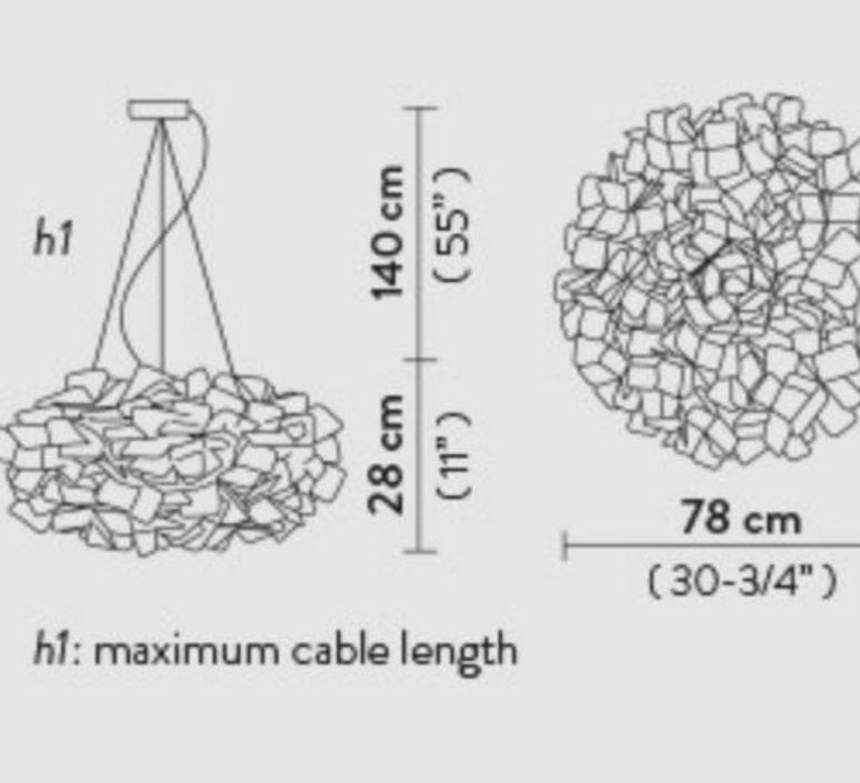 Clizia pixel l adriano rachel suspension pendant light  slamp cli78sos0003px 000  design signed nedgis 66257 product