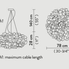 Clizia pixel l adriano rachel suspension pendant light  slamp cli78sos0003px 000  design signed nedgis 66257 thumb