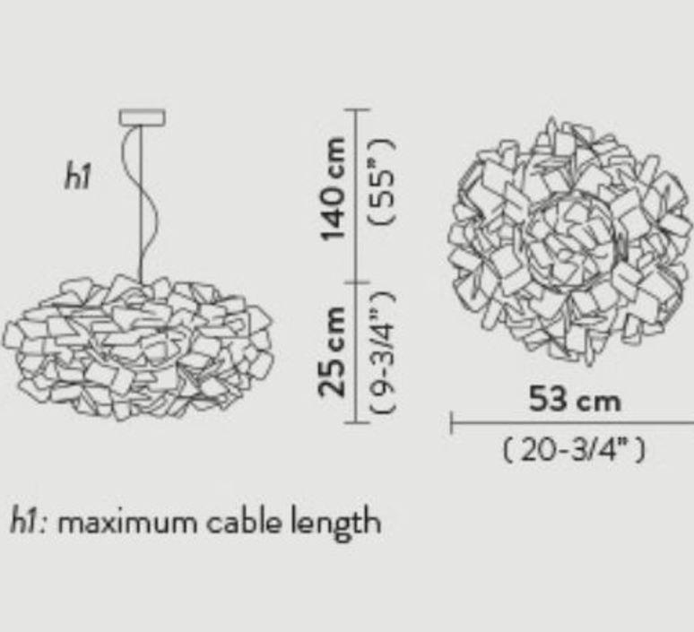 Clizia pixel s adriano rachel suspension pendant light  slamp cli78sos0000px 000  design signed nedgis 66254 product