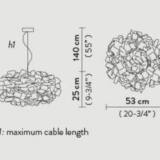 Clizia pixel s adriano rachel suspension pendant light  slamp cli78sos0000px 000  design signed nedgis 66254 thumb