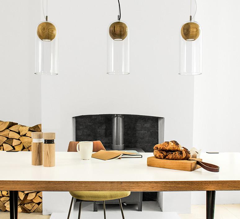 Cloak  studio vitamin vitamin cloak walnut luminaire lighting design signed 16764 product