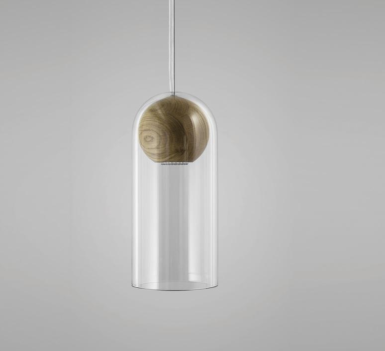 Cloak  studio vitamin vitamin cloak walnut luminaire lighting design signed 16765 product