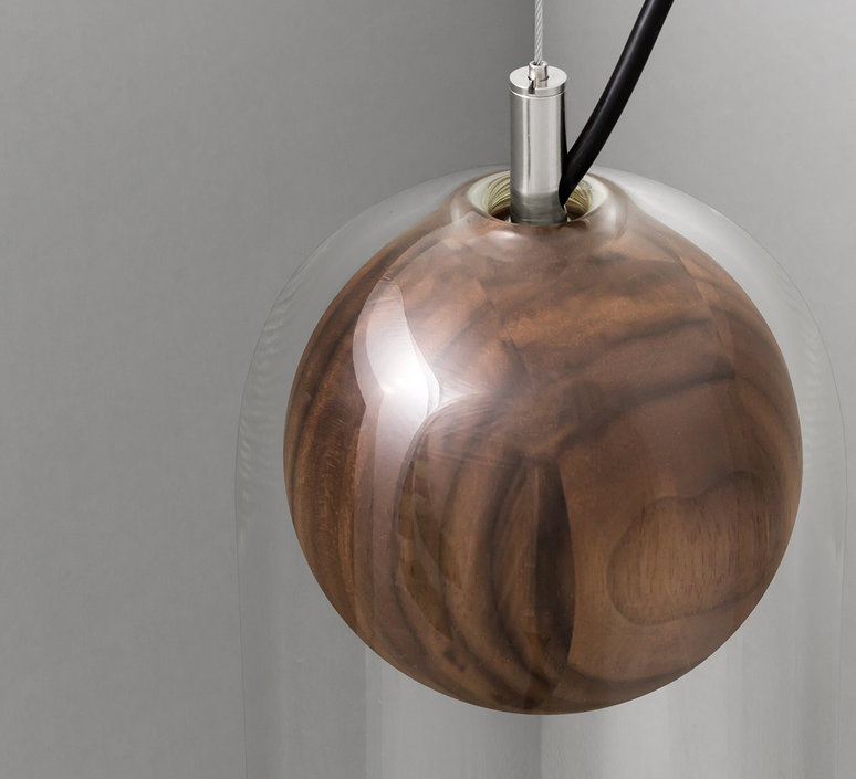 Cloak  studio vitamin vitamin cloak walnut luminaire lighting design signed 16766 product