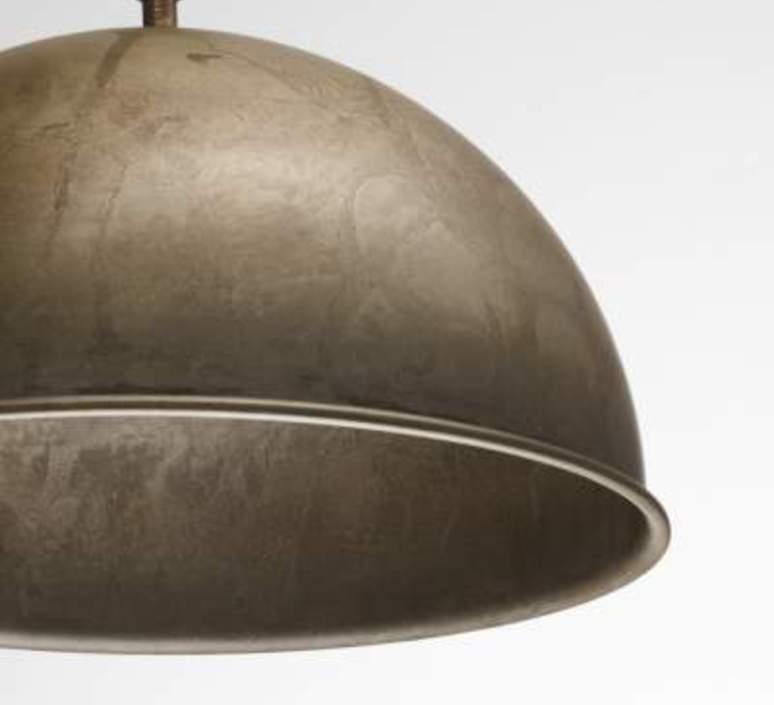 Suspension cloche galileo metal vieilli o60cm h40cm il fanale 58270 product