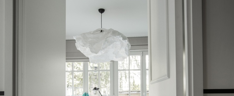 Suspension cloud nuage blanc o90cm proplamp normal
