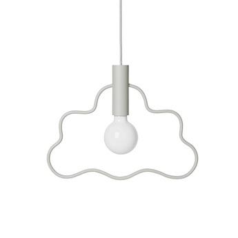 Suspension cloud pendant gris l38cm h36 5cm ferm living normal