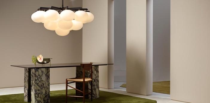 Suspension cloudesley large bronze o130cm h108cm cto lighting normal