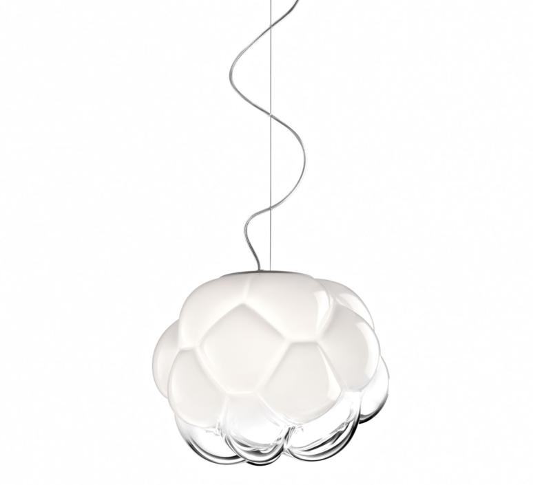 Cloudy f21 mathieu lehanneur suspension pendant light  fabbian f21a03  design signed 39836 product