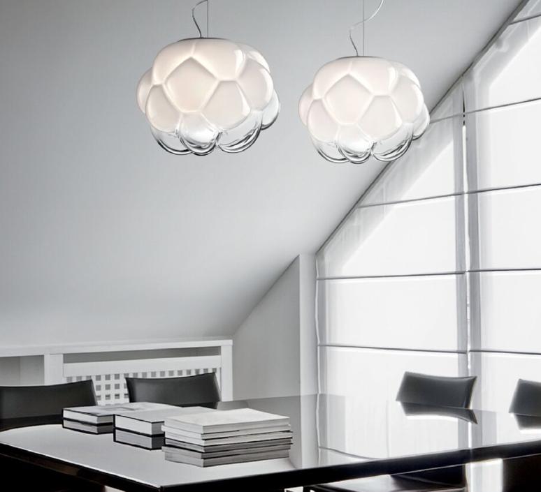 Cloudy f21 mathieu lehanneur suspension pendant light  fabbian f21a05  design signed 39842 product