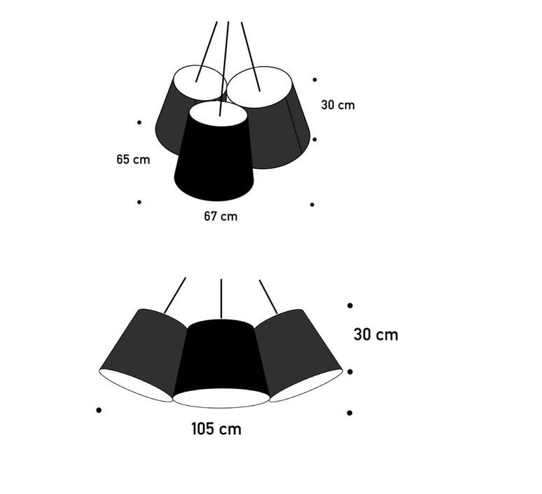 Cluster felix severin mack fraumaier cluster blanc luminaire lighting design signed 16921 product