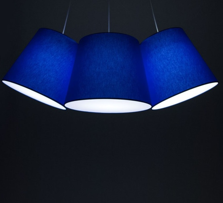 Cluster felix severin mack fraumaier cluster bleu luminaire lighting design signed 16922 product