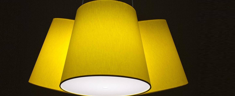 Suspension cluster jaune h30cm fraumaier normal